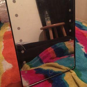 Bath - COPY - Mini vanity mirror with lights